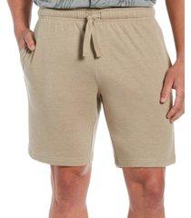 "cubavera men's solid double-knit 9"" drawstring shorts"
