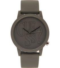 reloj gris guess