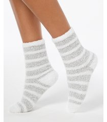 charter club marled stripe super soft cozy socks, created for macy's