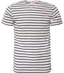 armor lux mariniere heritage t-shirt - milk & polo 73842-aab