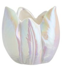 porta vela romance floraison 8 cm - home style