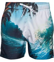 salvador salvador swim shorts badshorts multi/mönstrad björn borg