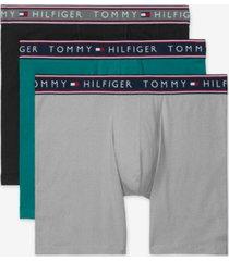 tommy hilfiger men's 3-pack cotton stretch boxer briefs