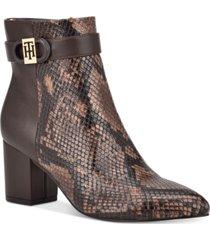 tommy hilfiger halliri booties women's shoes