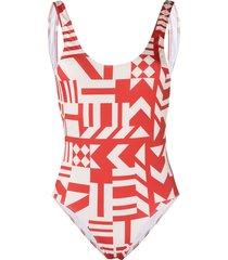 roseanna x edith raymond pamela swimsuit - neutrals