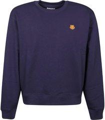 kenzo tiger crest classic sweatshirt