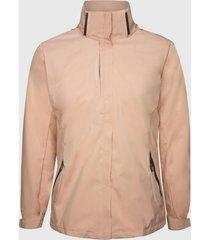 chaqueta 3 en 1 desmontable rosada andesland