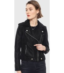 chaqueta ellus negro - calce ajustado
