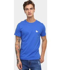 camiseta rg 518 básica bordado