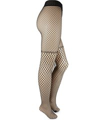 control top fishnet tights