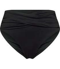 seafolly high waist wrap front pant bikinitrosa svart seafolly