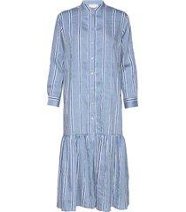 dress w. skirtpart knälång klänning blå coster copenhagen