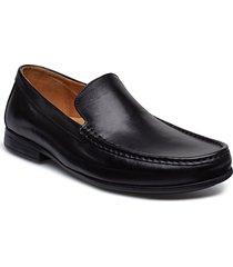 claude plain shoes business loafers svart clarks
