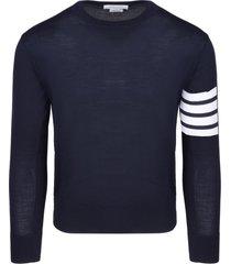 thom browne 4-bar classic sweater