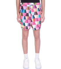 formy studio shorts in rose-pink polyester