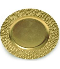sousplat natalino decoração mesa de natal estampa dourado