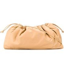 studio amelia maxi drawstring shoulder bag - neutrals