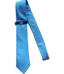 corbata azul clara oscar de la renta 20aa2104-165