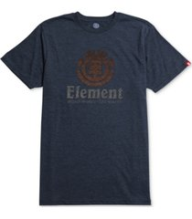element men's vertical push graphic-print logo t-shirt