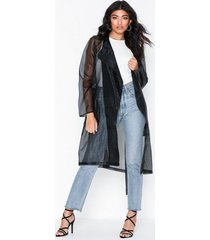 nly trend transparent trenchcoat trenchcoats