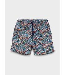 pantaloneta de baño estampada para hombre 13084