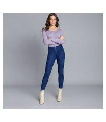 lez a lez - calça jegging cropped every day jeans