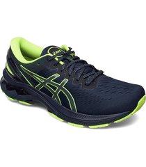 gel-kayano 27 lite-show shoes sport shoes running shoes blå asics