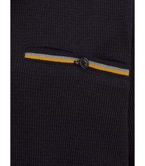 tröja men plus svart::grå::ockragul