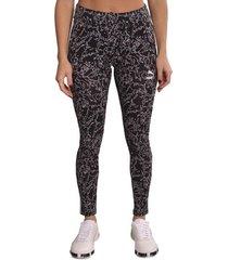 calza negra puma classics t7 legging aop