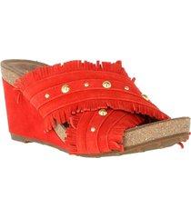sandalia cuero zlatni rojo hush puppies