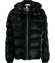 1017 alyx 9sm high-shine padded coat - black