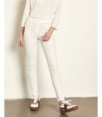 pantalón blanco portsaid confort classic vincent