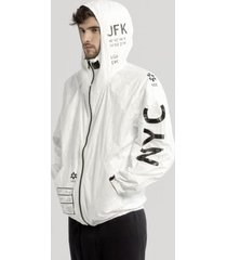 kurtka tyvek nyc zip-up
