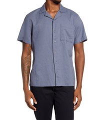 men's bp. linen button-up camp shirt