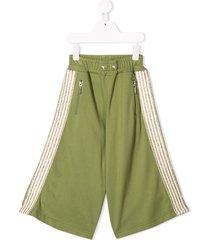 raspberry plum kasha trousers - green