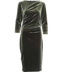 nisas dress jurk knielengte groen inwear