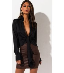akira own the night high waisted mini skirt