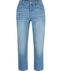 bekvämt stretchiga 7/8-jeans