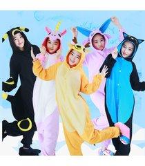 adult polar fleece unisex onesies kigurumi animal pajamas costume sleepwear
