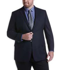 joseph abboud navy executive fit blazer