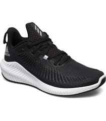 alphabounce 3 shoes sport shoes running shoes svart adidas performance