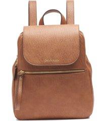 calvin klein elaine flap backpack