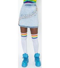 akira extreme stretch rhinestone pin mini skirt