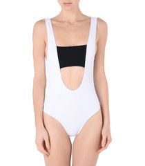 beth richards one-piece swimsuits