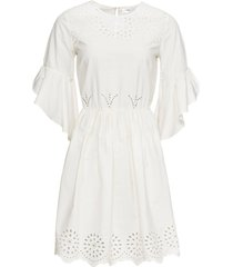 abito con ricamo traforato (bianco) - bodyflirt