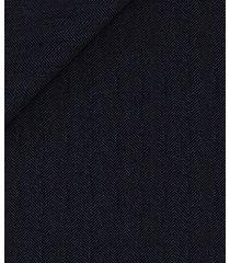 abito da uomo su misura, vitale barberis canonico, blu spigato, quattro stagioni | lanieri
