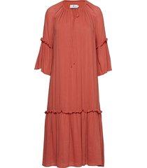 izabella jurk knielengte oranje arnie says