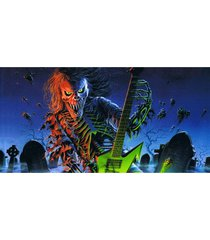 iron-maiden-printed-70-140cm-bamboo-fiber-bath-towel-soft-beach-towel-drying-was