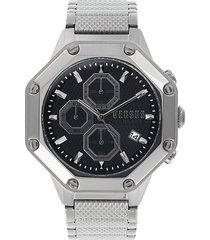 versus versace men's stainless steel chronograph watch