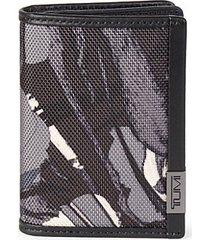 gusseted bi-fold card case